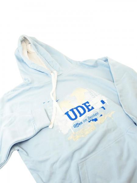 Kapuzenpullover UDE (unisex) hellblau
