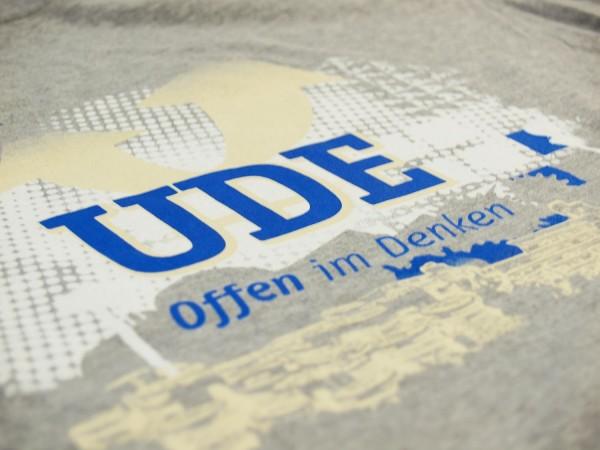 T-Shirt UDE Herren grau