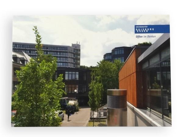 """Postkarte """"Blick auf Campus Duisburg"""""""