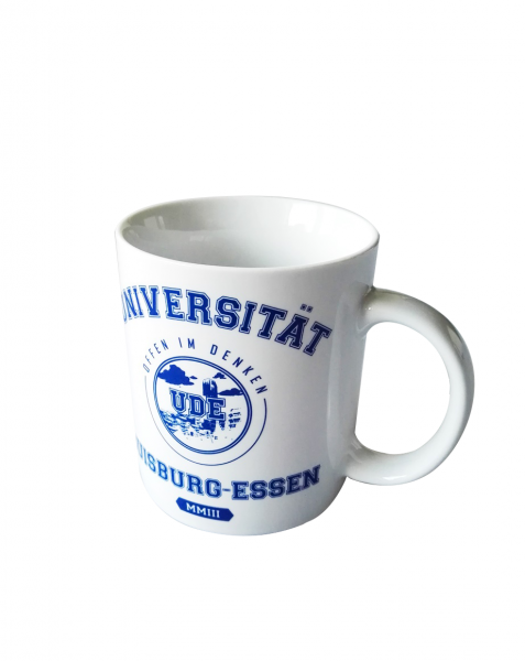 Klassische Kaffeetasse, weiß