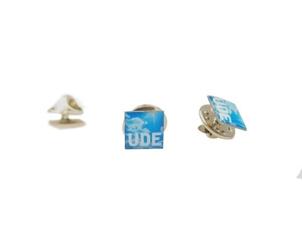 Pin UDE blau