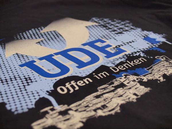 T-Shirt UDE Damen schwarz