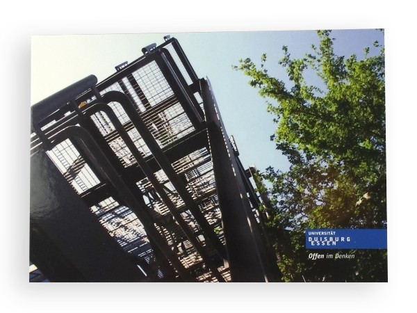 "Postkarte ""Metallkonstruktion"""