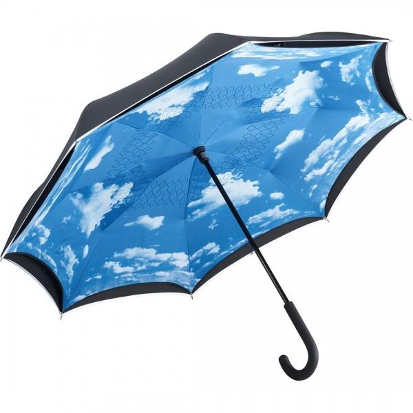 Hochwertiger Regenschirm mit Himmelmotiv