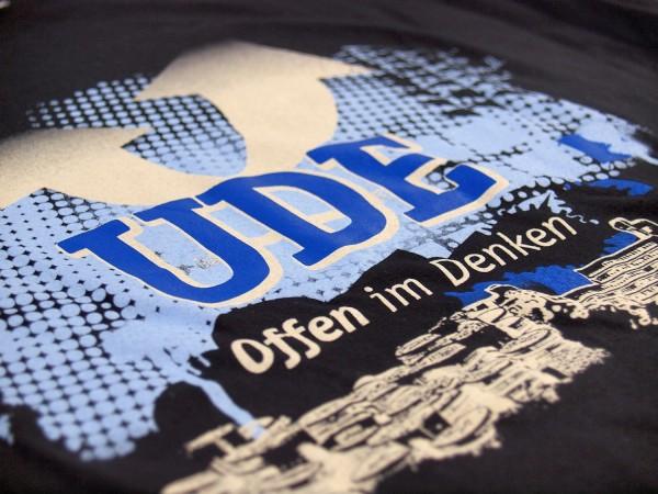 T-Shirt UDE Herren schwarz