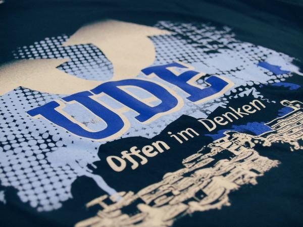 T-Shirt UDE Damen dunkelblau