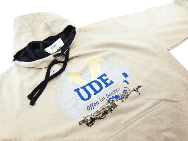 Kapuzenpullover UDE (unisex) grau